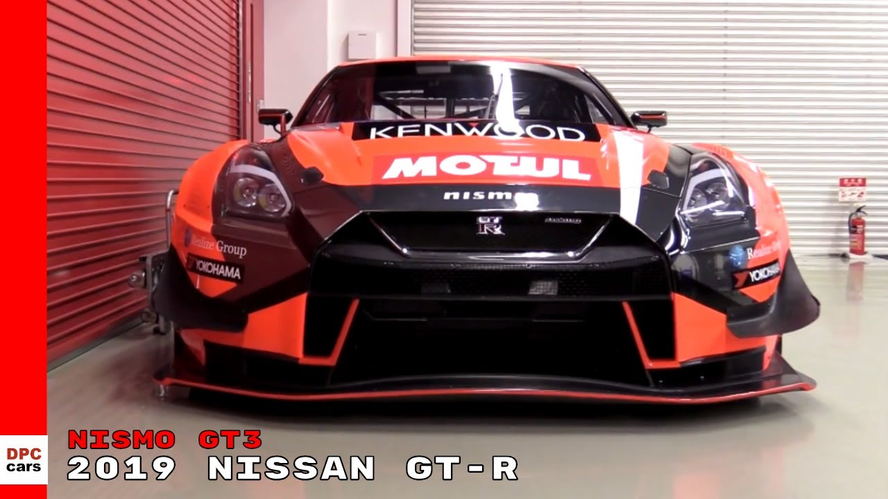 2019 Nissan Gtr Nismo Gt3 Youtube