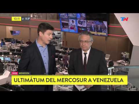 Ultimatum del Mercosur a Venezuela