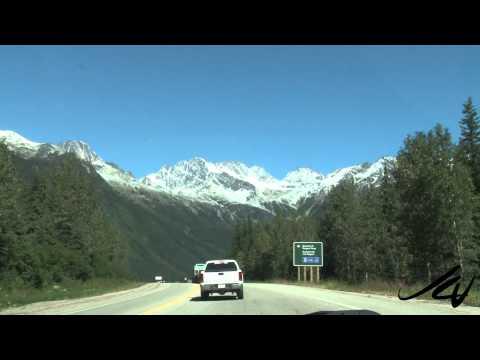 A Rocky Mountain Scenic Drive - British Columbia Canada