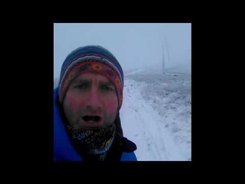 Snow and freezing temperatures hits the UK Dec 2017 after storm Caroline