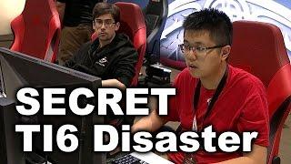 Team Secret Disasters vs Newbee Liquid - TI6 Dota 2
