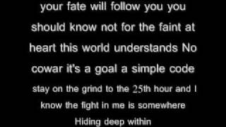 Kid Cudi - Heart Of A Lion Lyrics Video