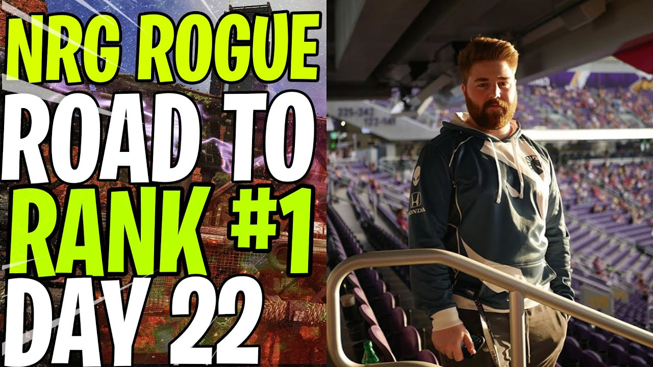 NRG ROGUE - ROAD TO RANK #1 DAY 22  - 3x scope + R301 = FREE WIN