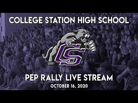 College Station High School Pep Rally - Oct. 16th, 2020