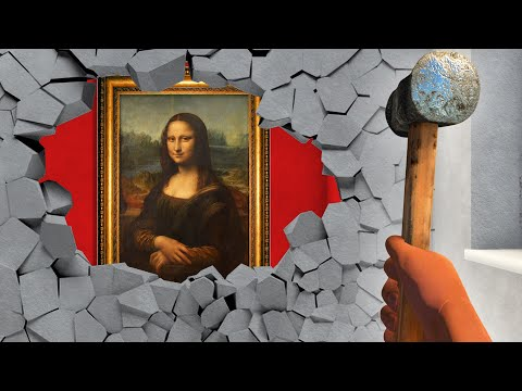 Stealing A $100,000,000 PAINTING! (Thief Simulator)