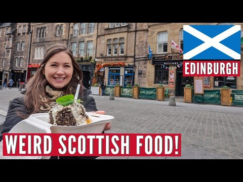 They Deep Fry ANYTHING In Scotland! | Edinburgh, Haggis & Fried Pizza | Hostel Travel Series Part 3