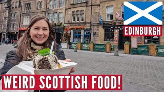 They Deep Fry ANYTHING In Scotland! | Edinburgh, Haggis & Fried Pizza | Hostel Travel Series Part 3