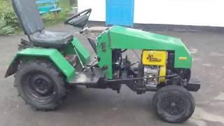 Саморобний міні-трактор