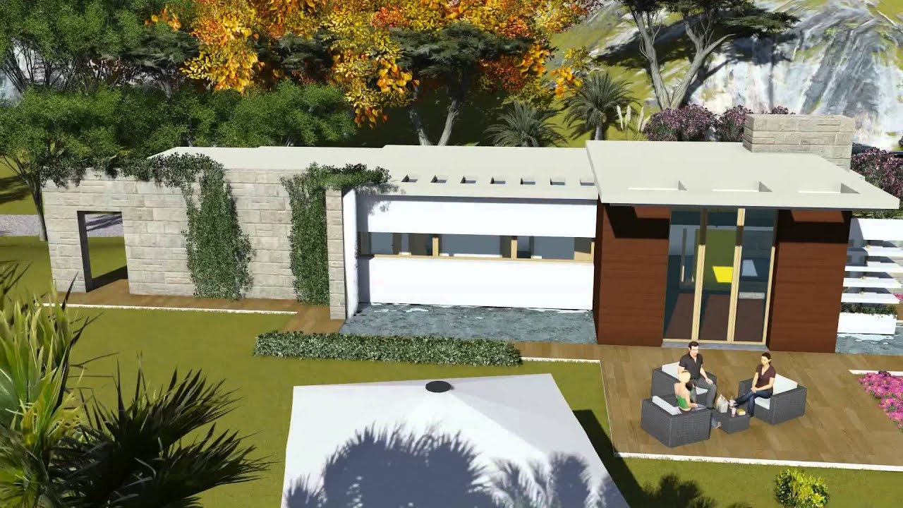 architettura organica villa moderna youtube
