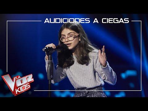 La pequeña Marina Luque de Huelva pasa las audiciones de La Voz Kids con Lovely