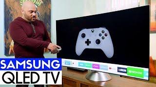 Samsung QLED Q8C 4K HDR TV Unboxing & Setup!