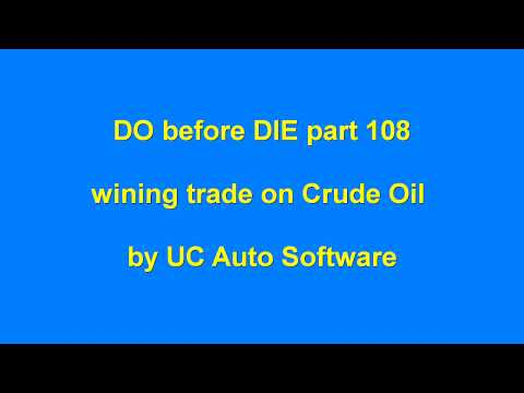 DO before DIE part 108 Automated Algo Trading Software from Ultachaal on MCX Crude Oil