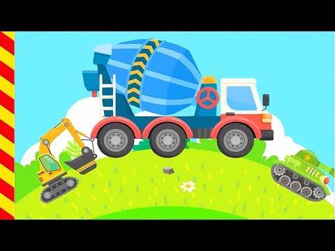 Мультфильм много машин