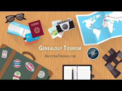 AF-252   Why is Genealogy Tourism So Popular?   Genealogy Gold Podcast