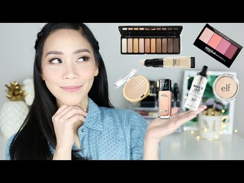 DRUGSTORE/AFFORDABLE MAKEUP TRY ON AND FIRST IMPRESSIONS