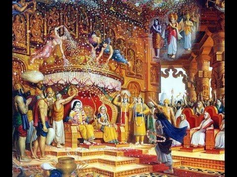 Ram Darbar hai jag sara  (Whole world is under the rule of Shri Rama)