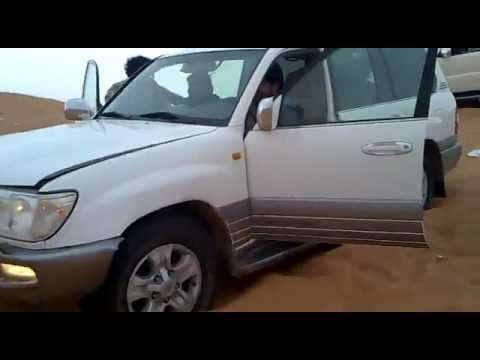 Land cruiser accident in Abu dhabi desert