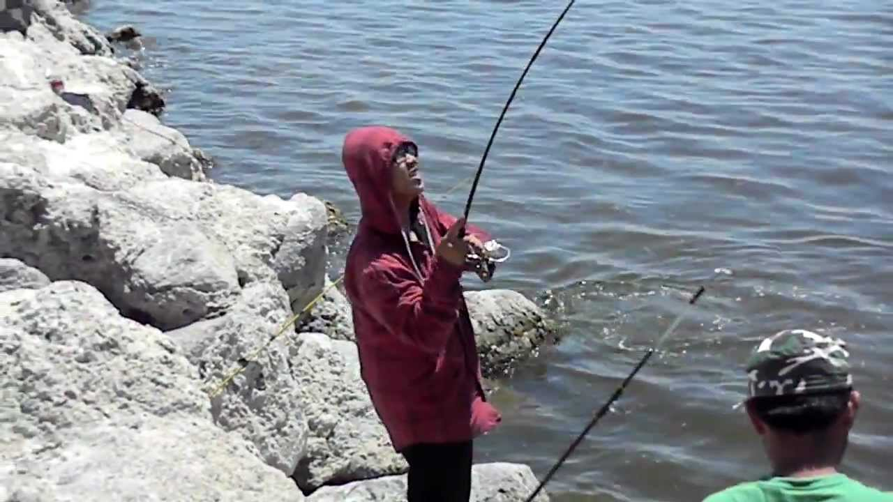 Salton sea fishing 1234 youtube for Salton sea fishing report
