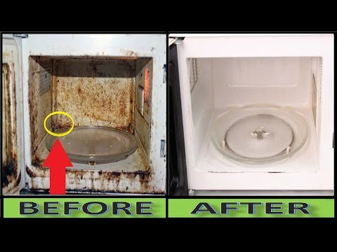 Use this trick to Clean Dirty Microwave Oven Just In Minutes || Easy Cleaning