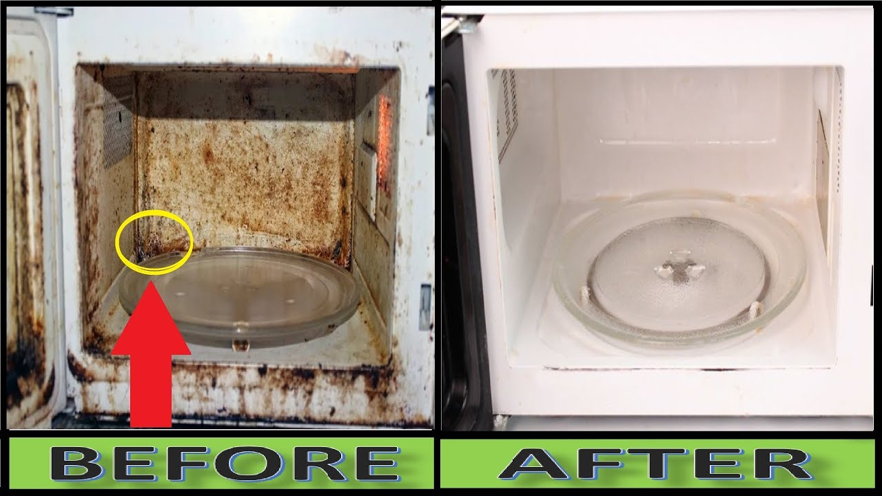 Use This Trick To Clean Dirty Microwave Oven Just In