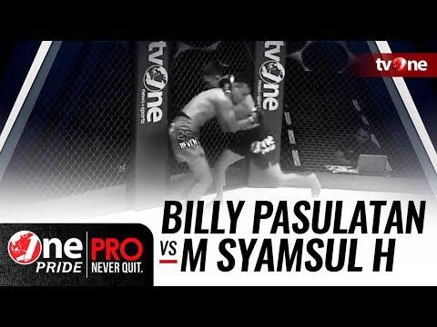 [HD] Billy Pasulatan vs M Syamsul Huda - One Pride Pro Never Quit #21