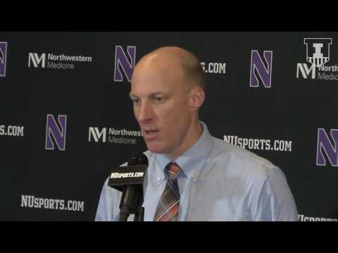 John Groce Postgame Press Conference at Northwestern 2/7/17