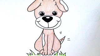 Drawing Lesson: How to Draw a Puppy