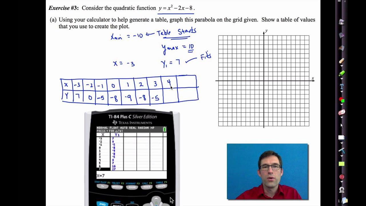 Common Core Algebra I Unit 8 Lesson 1 Roduction To