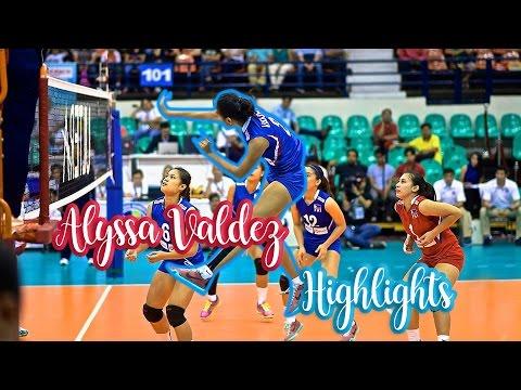 "Alyssa Valdez ""Phenom""  Highlights"