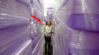 What's inside The Purple Mattress Factory?