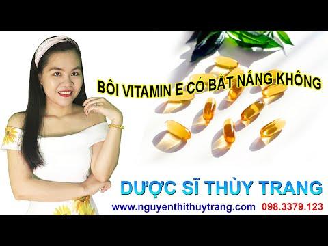 Bôi vitamin e có bắt nắng không? Lưu ý gì khi dùng Vitamin E