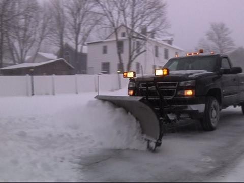 Heavy Snow Blankets Upstate NY