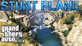 Grand Theft Auto V Challenges   STUNT PLANE AND TRAIN TOP COP CHASE   PS3 HD Gameplay