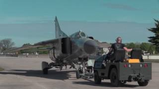 "Mikoyan-Gurevich MiG-23MS ""Flogger-E"" Aircraft Move to Cold War Gallery"
