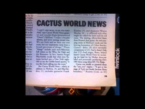 Cactus World News - 'Say Goodbye'