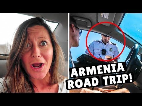 2 DAYS IN ARMENIA | What Else Will Go Wrong? Police Ticket & Closed Roads