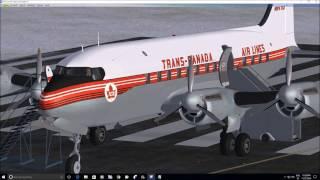 Canadair Northstar by Flight Replicas ( FSX ), part 1