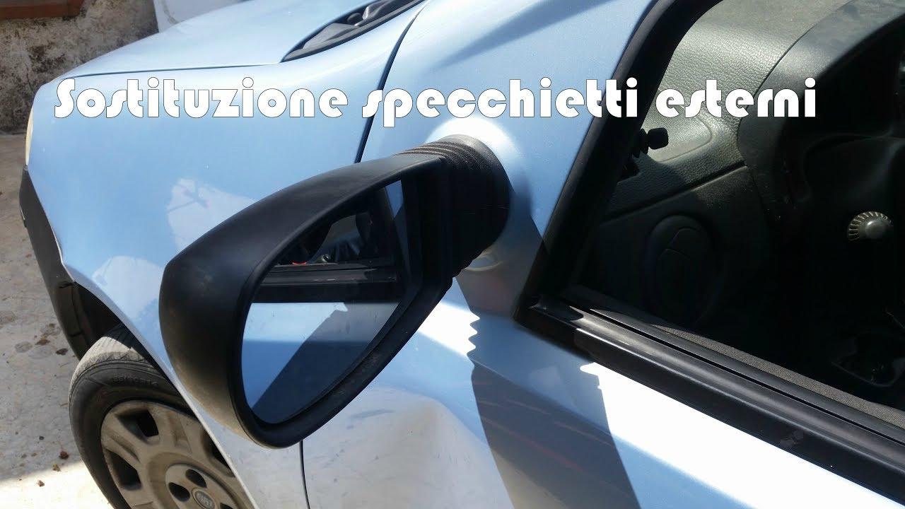 Sostituzione Vetro Specchietto Retrovisore Esterno.Sostituzione Specchietti Esterni Su Fiat Punto 3 Serie Youtube