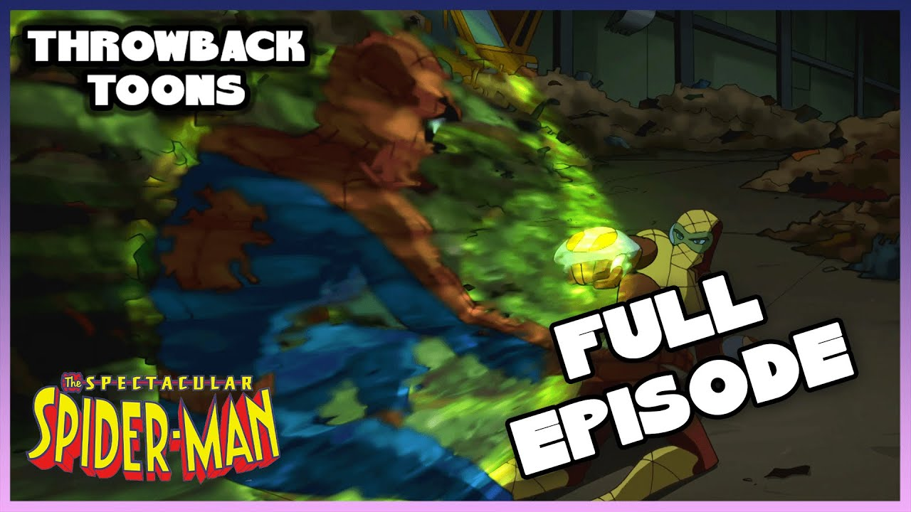 Download The Spectacular Spider-Man | Market Forces | Season 1 Ep. 4 Full Episode | Throwback Toons