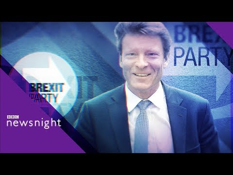 European Elections: Richard Tice on Brexit Party launch - BBC Newsnight