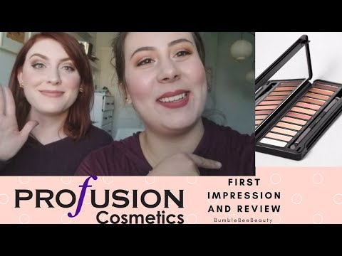 Profusion Cosmetics First Impressions/Review
