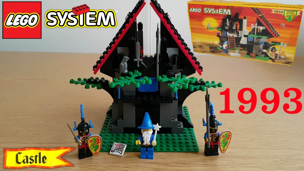 LEGO Castle: 6048 Majisto's Magical Workshop 1993 Review
