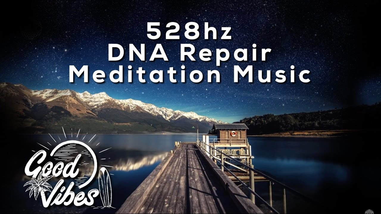 528hz (Warning!) Powerful DNA Healing and Relaxation Music - 60 Minutes (Meditation)