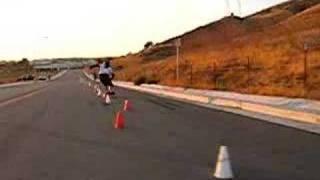 NorCal Slalom Practice 80+cone course