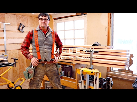 How To Build A Sturdy Work Bench | SUPER SIMPLE!!