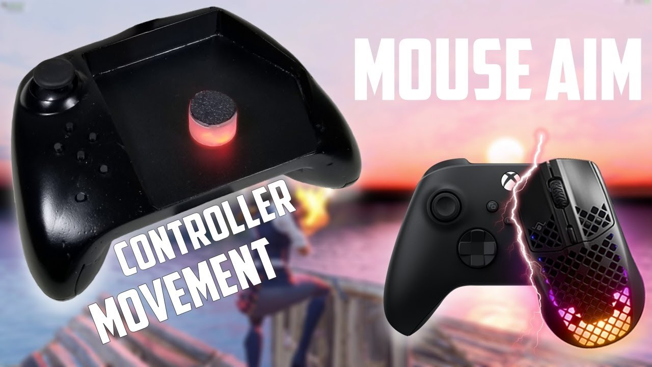 THE FUTURE OF PRO CONTROLLERS | Mouse Controller V3 | FORTNITE WARZONE