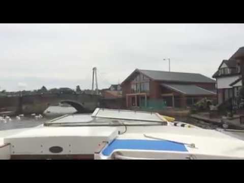 Wroxham bridge 28/05/17 river Bure Hoveton Norfolk Broads boat boating