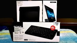 Teclado Bluetooth, Funda y Base Xperia Tablet Unboxing Thumbnail