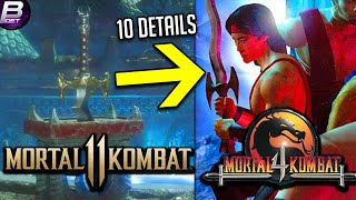 Mortal Kombat 11: 10 Details/Easter Eggs You Missed! (Aftermath)