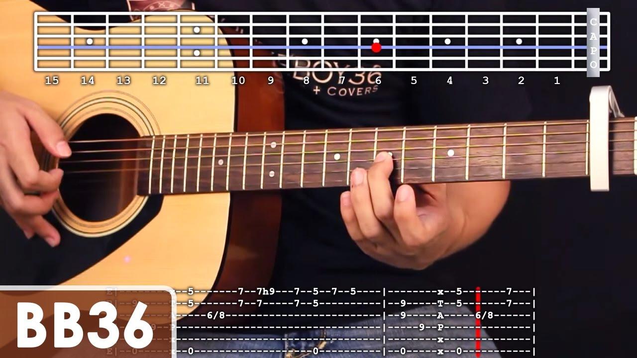 Kahit Maputi Na Ang Buhok Ko - Noel Cabangon / Yeng Constantino Intro Guitar Tutorial - YouTube